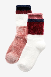 Next Supersoft Bed Socks Two Pack - 266940