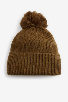 Next Knitted Pom Hat - 266956