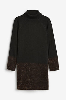 Next Sparkle Knitted Dress (3-16yrs) - 266978