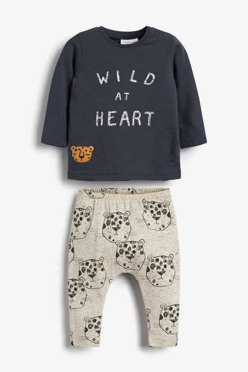 Next T-Shirt And Leggings Slogan Set (0mths-2yrs)