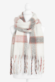 Next Check Blanket Scarf - 267028