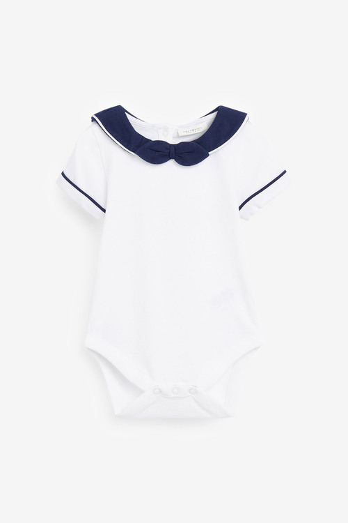 Next Smart Jersey Bodysuit And Shorts Set (0mths-2yrs)