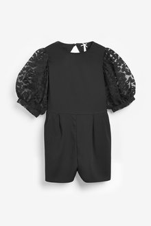 Next Organza Sleeve Playsuit (3-16yrs) - 267040