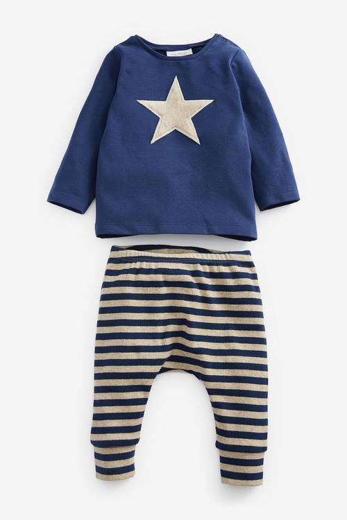 Next Star T-Shirt And Leggings Set (0mths-2yrs)