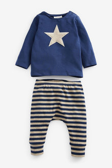Next Star T-Shirt And Leggings Set (0mths-2yrs) - 267048