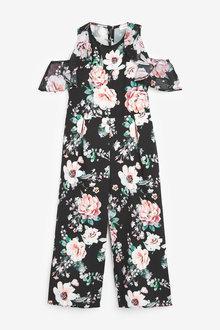 Next Floral Cold-Shoulder Jumpsuit (3-16yrs) - 267062
