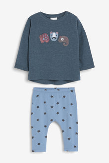 Next Jersey Character T-Shirt And Legging Set (0mths-2yrs) - 267087