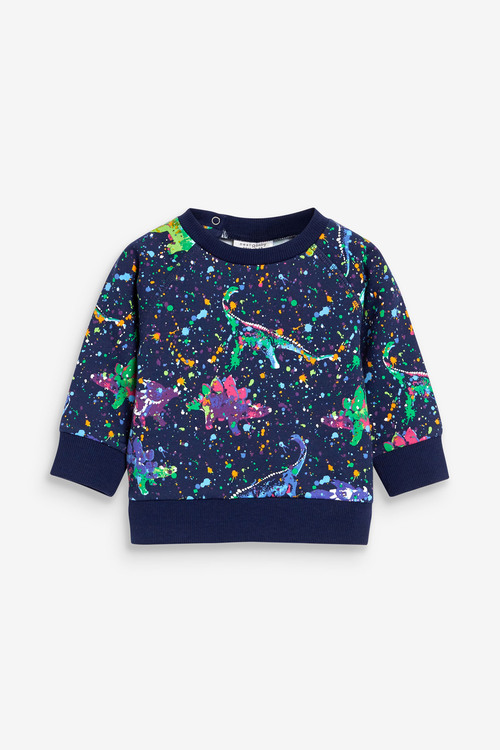 Next Dinosaur Sweatshirt And Joggers Set (0mths-2yrs)
