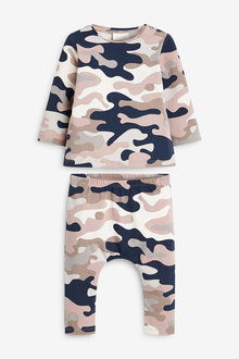 Next GOTs Organic T-Shirt And Legging Set With Stretch (0mths-2yrs) - 267102