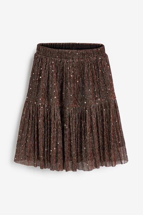 Next Sparkle Tiered Skirt (3-16yrs)