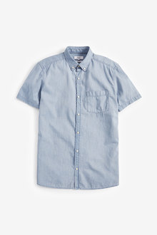 Next Denim Shirt-Slim Fit - 267124