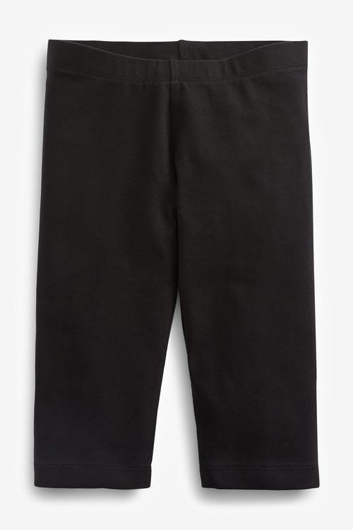 Next 3 Pack Cropped Leggings (3-16yrs)