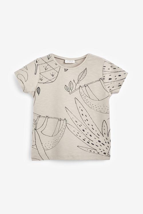 Next 3 Pack Character Stretch T-Shirts (0mths-2yrs)