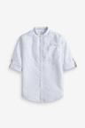 Next Linen Blend Long Sleeve Shirt