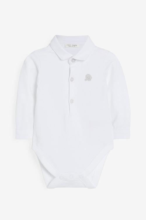 Next Jersey Shirt Bodysuit (0mths-3yrs)