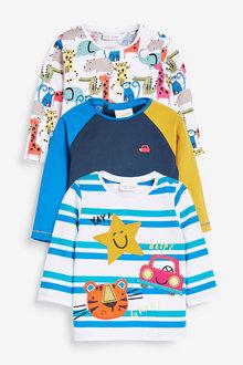 Next Three Pack Character T-Shirts (0mths-2yrs) - 267156