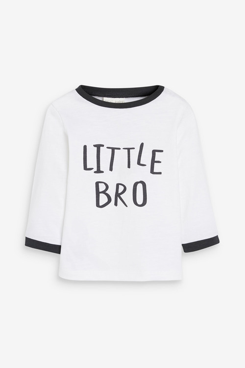 Next Little Brother Long Sleeved T-Shirt (0mths-2yrs)