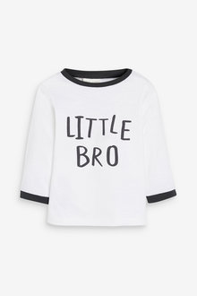 Next Little Brother Long Sleeved T-Shirt (0mths-2yrs) - 267158