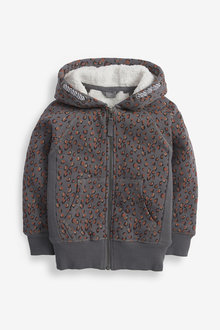 Next Borg Lined Zip Through Hoody (3-16yrs) - 267181