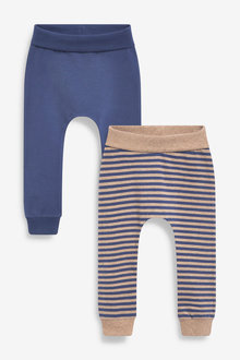 Next 2 Pack Stretch Leggings (0mths-2yrs) - 267196