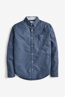 Next Long Sleeve Regular Fit Oxford Shirt - 267200