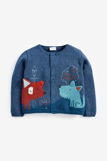 Next Dog Knitted Cardigan (0mths-3yrs) - 267201
