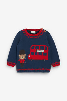 Next Bear Knit Jumper (0mths-2yrs) - 267205