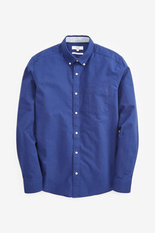 Next Long Sleeve Oxford Shirt - 267206