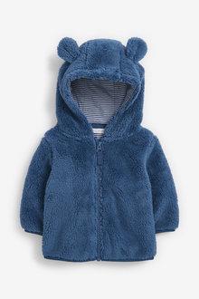 Next Cosy Fleece Bear Jacket (0mths-2yrs) - 267210