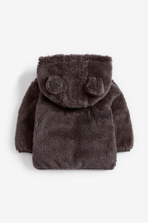 Next Cosy Fleece Bear Jacket (0mths-2yrs)