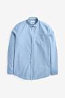 Next Long Sleeve Oxford Shirt-Regular Fit