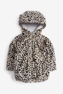 Next Faux Fur Jacket (3-16yrs) - 267240