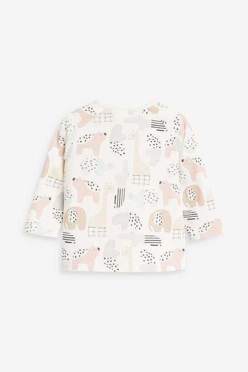 Next 2 Pack GOTs Organic T-Shirt (0-12mths)