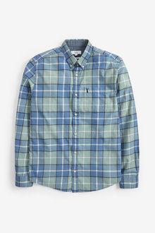 Next Lightweight Check Shirt - 267259