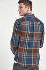 Next Heavyweight Check Long Sleeve Shirt