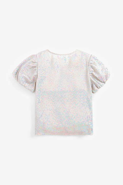Next Party Sequin Top (3-16yrs)