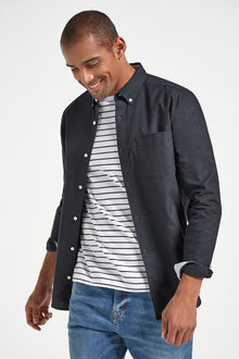 Next Long Sleeve Oxford Shirt - 267301