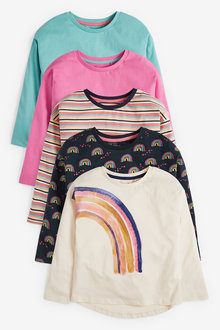 Next 5 Pack T-Shirts (3-16yrs) - 267324