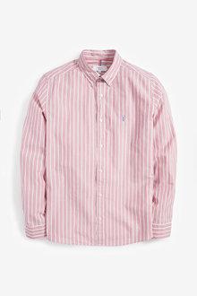 Next Stripe Stag Shirt - 267341