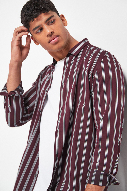 Next Stripe Long Sleeve Shirt