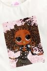 Next License L.O.L Dolls Flippy Sequin Top (3-16yrs)