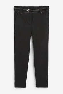 Next Senior Belted Skinny Trousers (9-16yrs) - 267443
