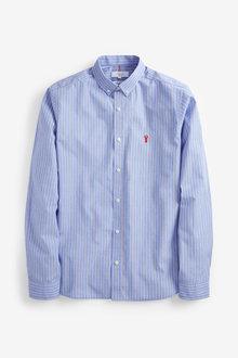 Next Stripe Stag Shirt- Slim Fit - 267445
