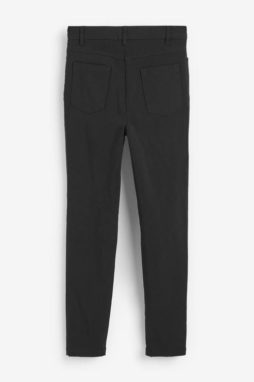 Next Skinny Fit Stretch High Waist Trousers (9-16yrs)