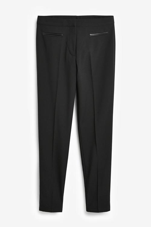 Next Senior Straight Leg Trousers (9-16yrs)