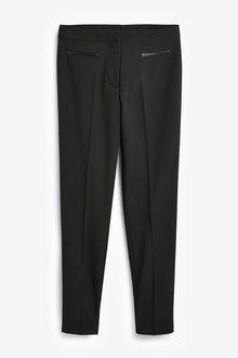 Next Senior Straight Leg Trousers (9-16yrs) - 267447