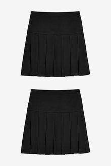 Next 2 Pack Pleat Skirts (3-16yrs) - 267454