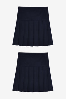 Next 2 Pack Pleat Skirts (3-16yrs) - 267459