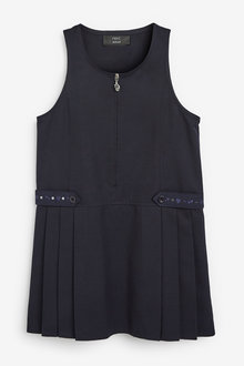 Next Embroidered Zip Pinafore (3-14yrs) - 267461