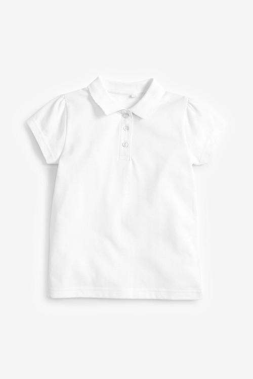 Next 2 Pack Short Sleeve Poloshirts (3-16yrs)